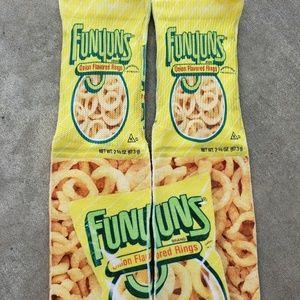 Custom ONION chips Socks